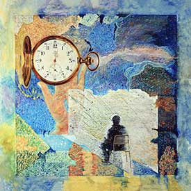 Time persistence art by Daniel Heller