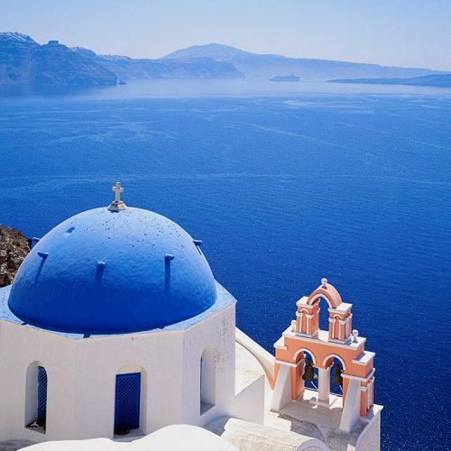 Photo image of Santorini
