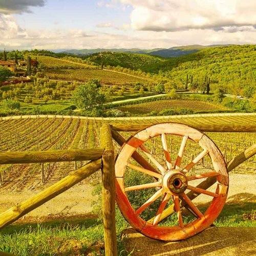 """Chianti Wheel"" - Limited Edition signed art print"