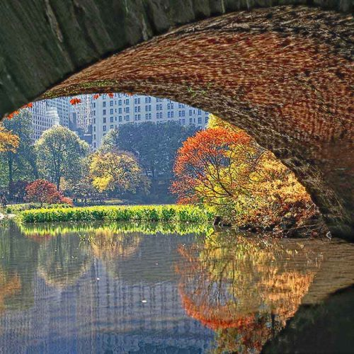 Fine art print Under Bridge by artist Daniel Heller
