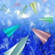 "Daniel Heller art ""Dancing Airplanes"""