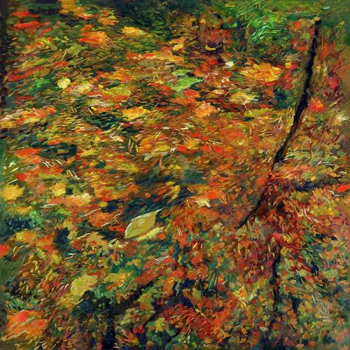 Autumn pond Daniel Heller