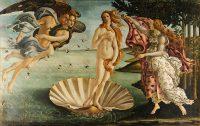 Famous paintings Birth of Venus