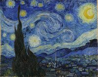 Famous paintings Starry night