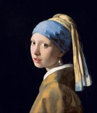 Famous paintings Girl with pearl earring