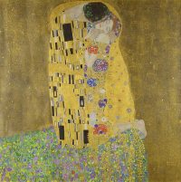 Famous paintings The kiss