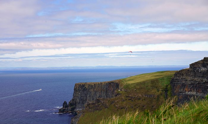 Cliffs of Moher gliders